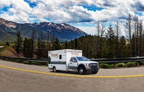 AEV Traumahawk Telematics Ambulance